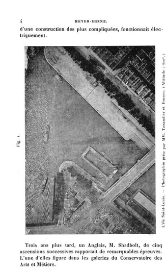 Gaston Tissandieru0027s And Jacques Ducomu0027s Aerial Photograph, From Hippolyte  Meyer Heine, La Photographie En Ballon Et La Téléphotographie (Paris: ...