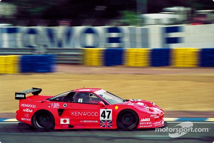 Honda NSX japoński supercar sportowy samochód kultowy V6 RWD wyścigi racing Le Mans