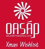 oasap Xmas Wishlist