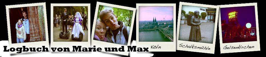 Logbuch von Marie und Max