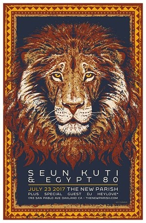 7/23 : Seun Kuti & Egypt 80 at The New Parish