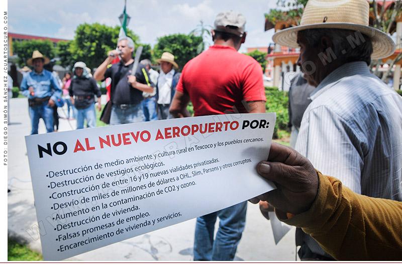 Científicos y pobladores contra el Nuevo Aeropuerto de la Ciudad de México