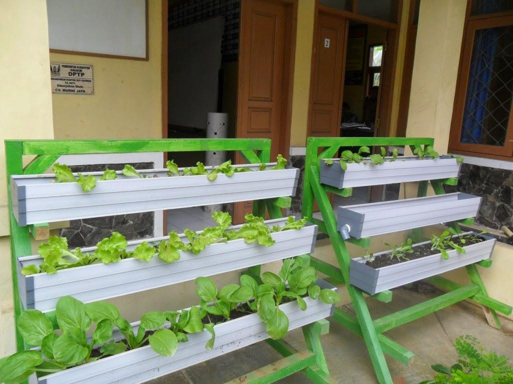 Bp3k Kecamatan Cicurug Budidaya Sayuran Secara Vertikultur