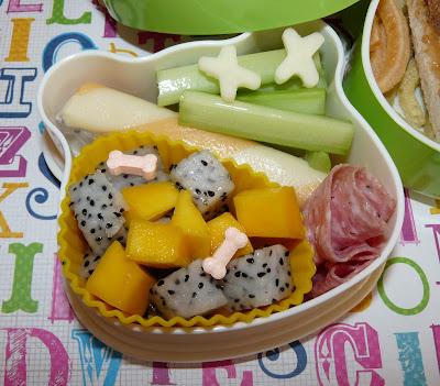 dragonfruit bento