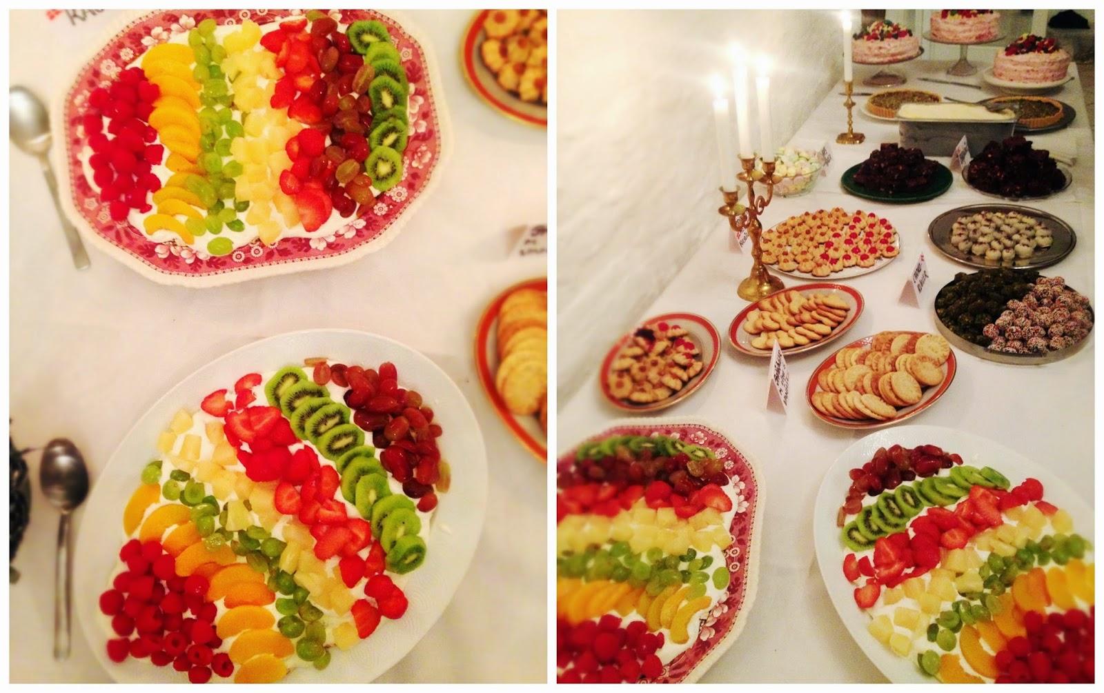 frugttærte med marengs