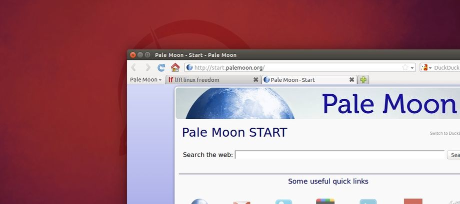 Pale Moon in Ubuntu