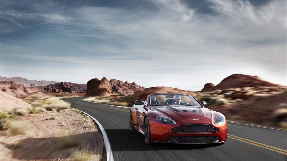 2015 Aston Martin V12 Vantage S Roadster: First drive