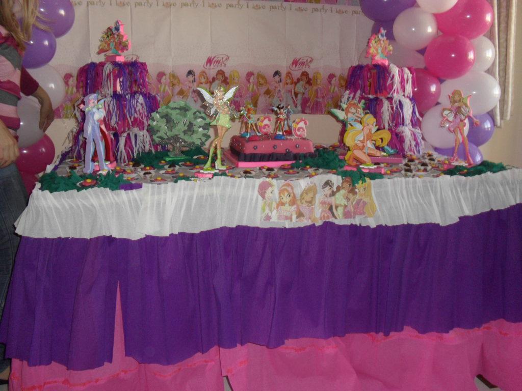 Decoração Winx ~ Primartes Decoraç u00e3o de Festas FESTA WINX