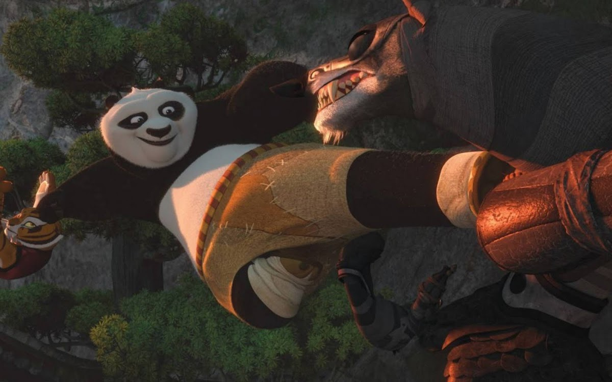 2011 Kung Fu Panda Movie Widescreen Wallpaper 3