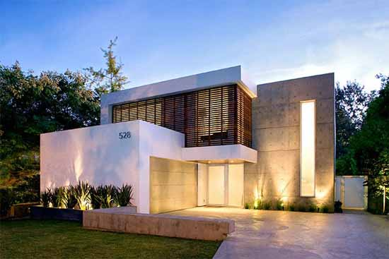Arquitectura  Arquidea: Casa minimalista en California por Steve Kent