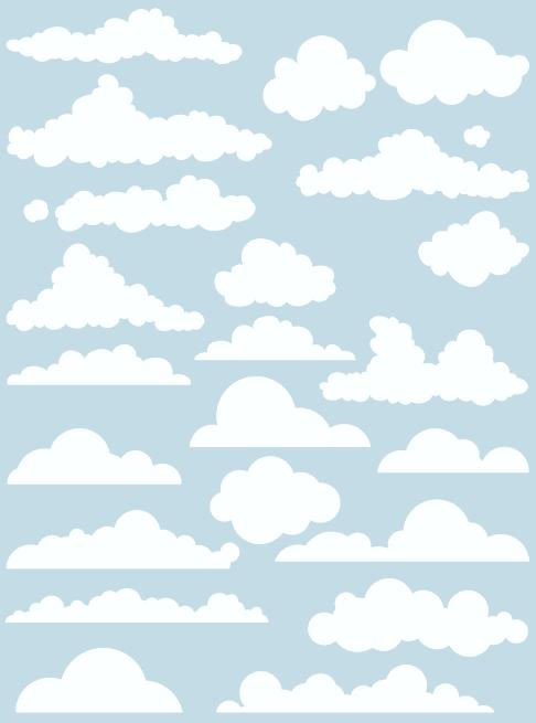 Nubes - vectores