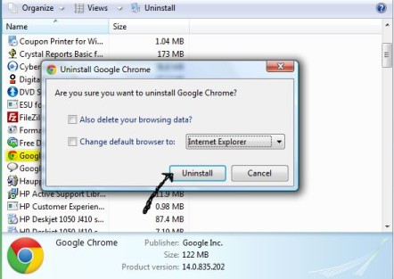 how to downgrade chrome