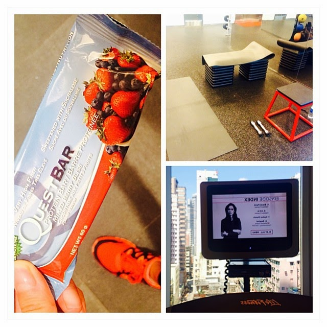 Resistance Training and Cardio with Quest Bar