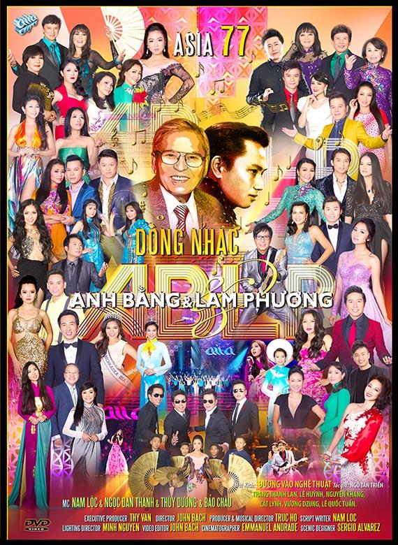 Chương Trình Ca nhạc Asia 77 - Dòng Nhạc Anh Bằng - Lam Phương DVD9/DVD5/DVDRip