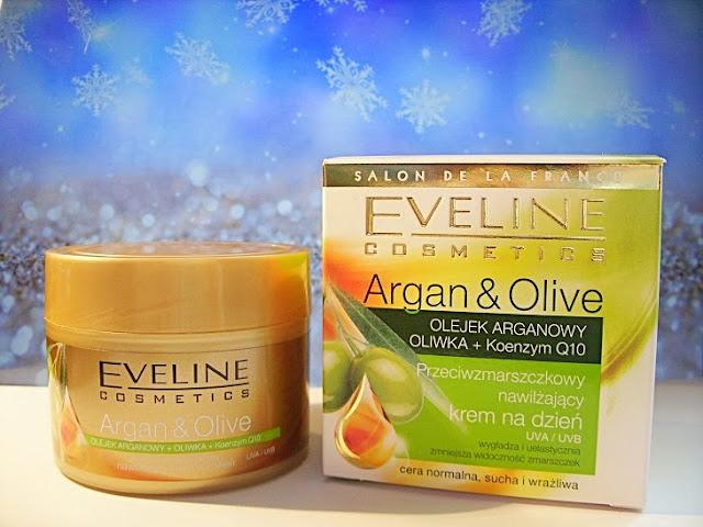 Recenzja:  Przeciwzmarszczkowy nawilżający krem na dzień Argan & Olive, Eveline