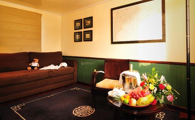 Suite Cabin - Emeraude Cruise