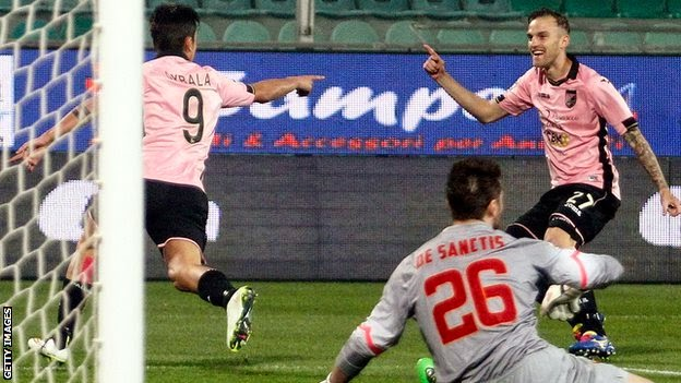 Serie A: Palermo-Roma 1-1 Video Highlights