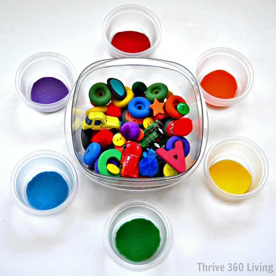 Thrive 360 Living A Fun Color Matching Game