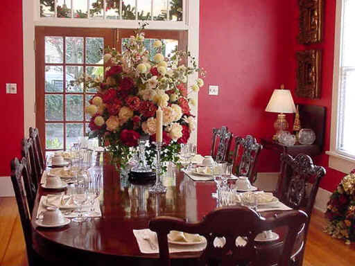 Delorme designs hot dining rooms - Red dining room color ideas ...