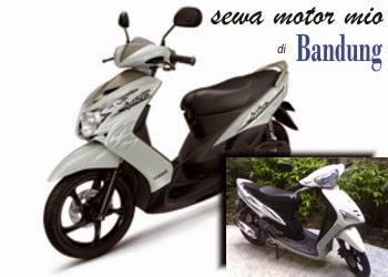 Sewa Motor Mio di Bandung