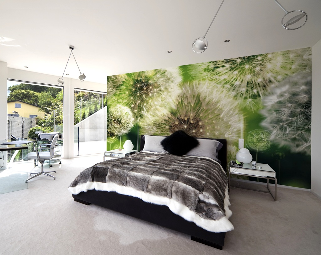 Murales pared naturaleza murales pared - Decoracion murales paredes ...