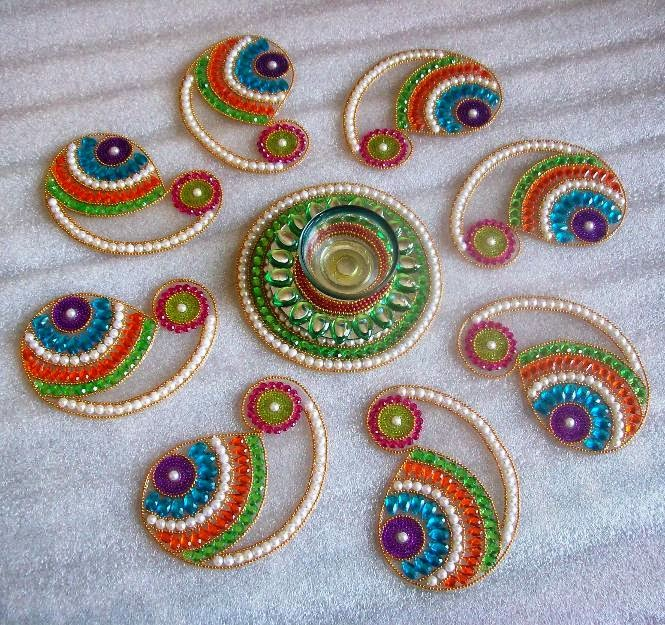 These are the few rangoli designs I found interesting. Hope you liked ...