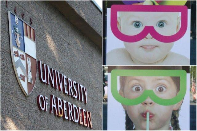 Universidad de Aberdeen, University of Aberdeen y posters del Festival Britanico de la Ciencia 2012, British Science Festival – Energising Minds