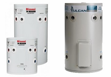 Electric hot water heating system