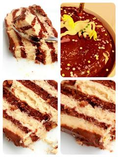 Lešnik torta s karamelama