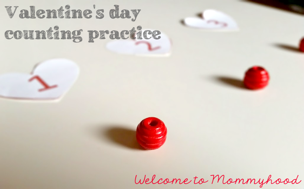 Free Printables Valentine S Day Number Matching Welcome