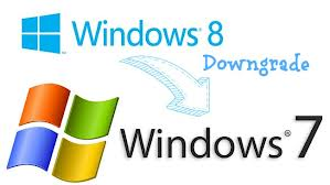 downgrade windows 8