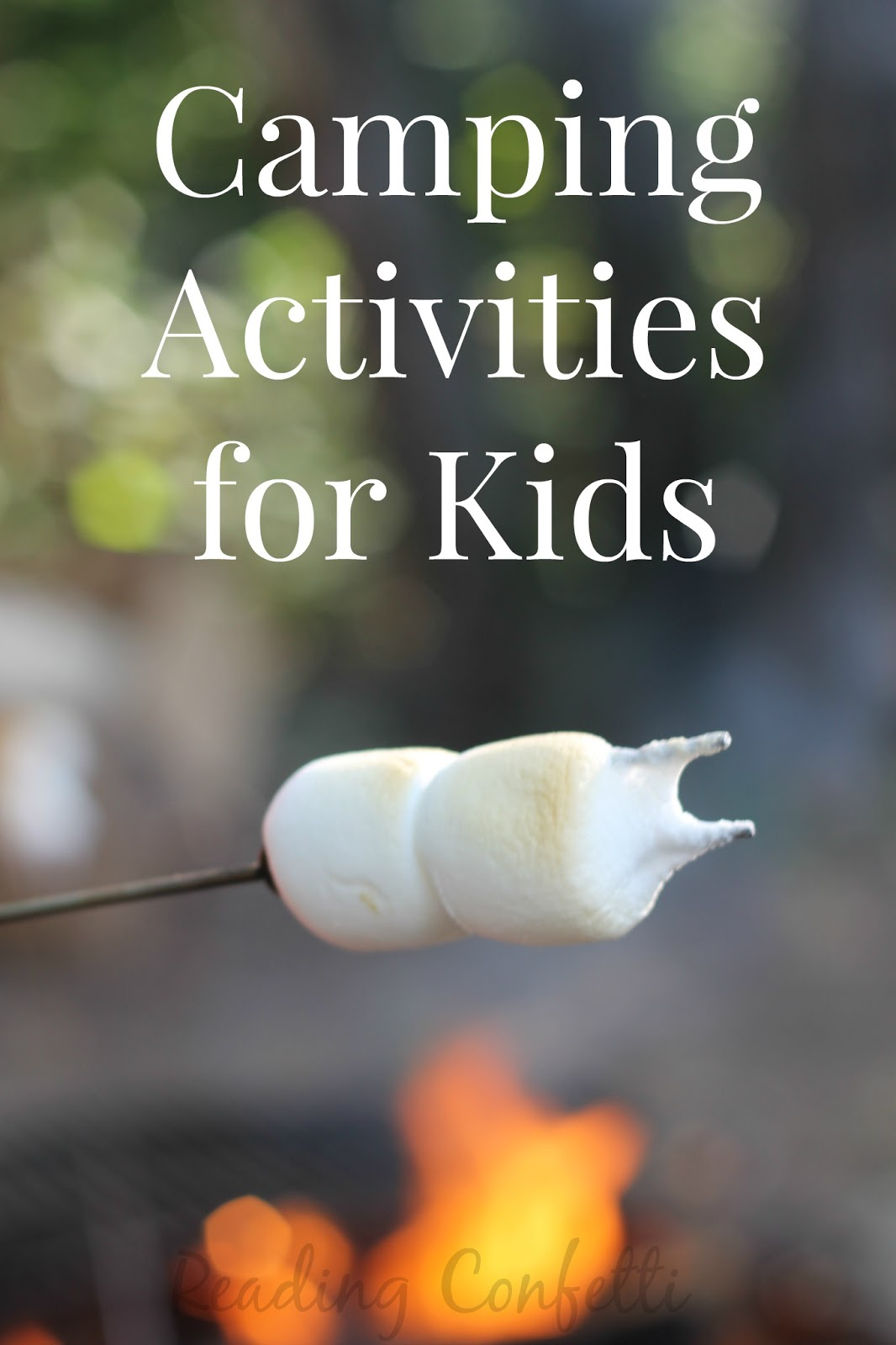 15 camping activities for kids