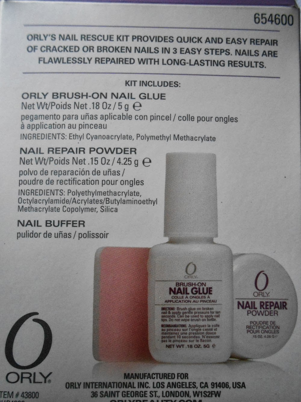 PicturedTinsel: Getestet: Orly Nail Rescue