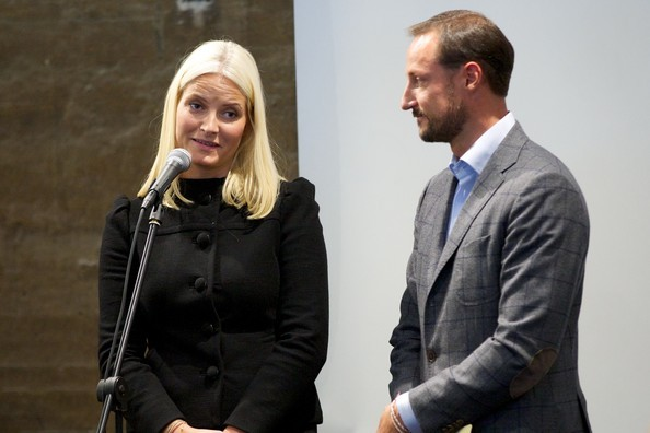 Crown Prince Haakon and Crown Princess Mette-Marit was Monday in Drammen to open a new national knowledge center for develop and disseminate knowledge about strength-based learning.