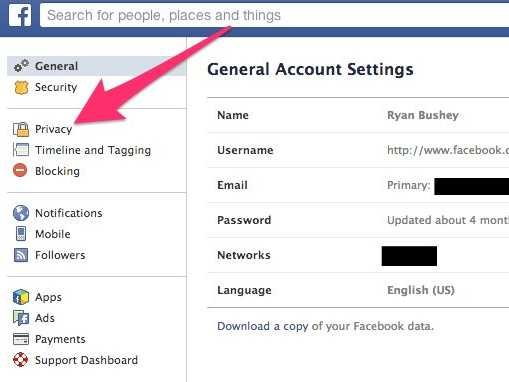 how to change privacy settings for comments on facebook