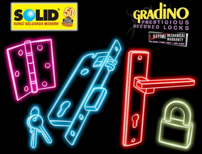 Kunci Solid Gradino