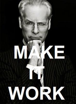 """Make it work"" - Tim Gunn"