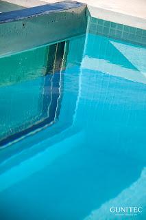 piscina con cristal7 Colores de agua de piscina.