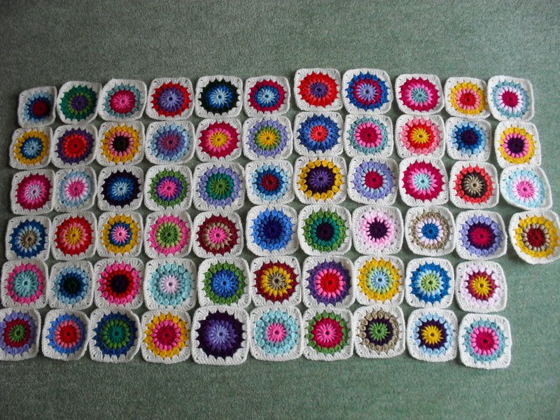 Lots Of Crochet Projects, Mollie Makes Starburst Crochet Blanket, Crochet  Rag Rug, Crochet