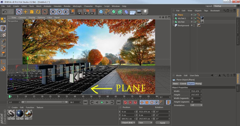 Menggabungkan Foto Dengan Objek 3D Dengan Cinema 4D