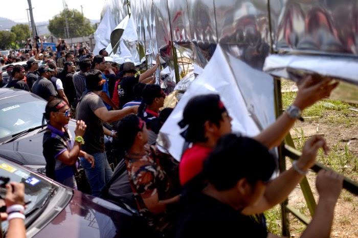 100 Penduduk Hadir Protes Datum Jelatek, info, terkini, berita, isu Dattum Jelatek