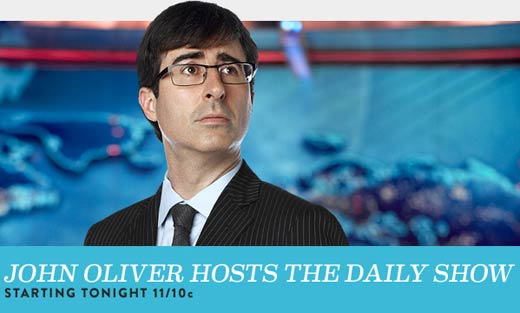 Is John Oliver taking over Daily Show?