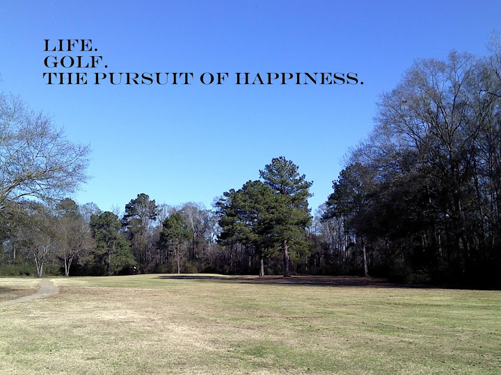 Life. Golf. The Pursuit of Happiness.
