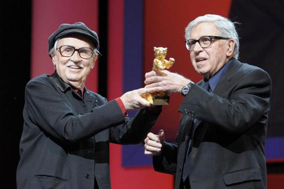 Taviani brothers pick up Golden Bear of Berlinale 2012 for Cesare deve Morire