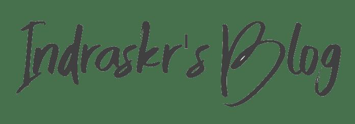 Indraskr's Blog