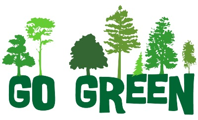 Go Green With Reduce Reuse And Recycle