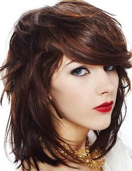 hair fashion layered medium hairstyle ideas for 2012