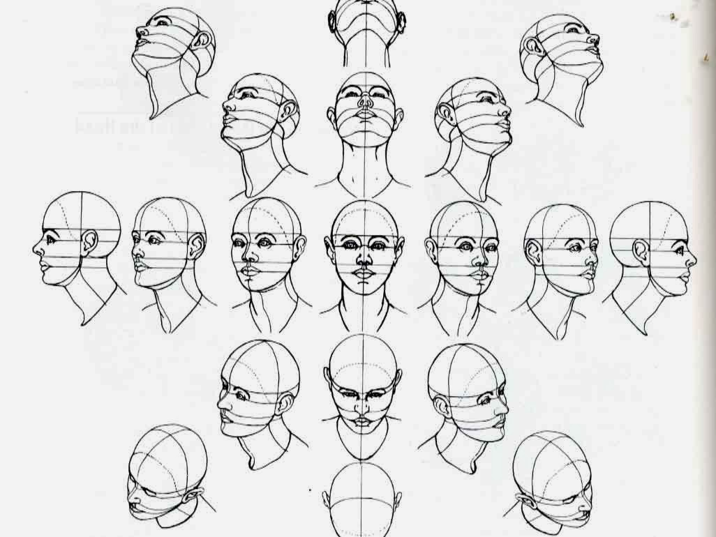 Drawing Scribble Face : The art of yves messer face proportions