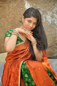 Actress Anusha Photos in Half saree-thumbnail-14