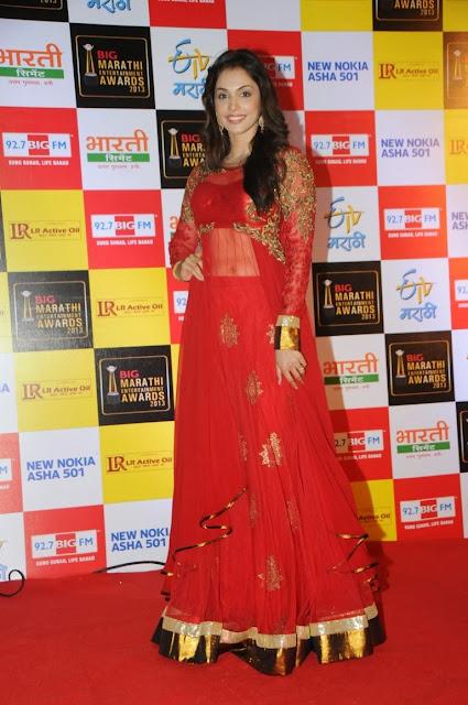 Isha Koppikar in Beautiful red Gown